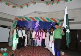 Joint Independence Day Celebration (India - Pak) 2014